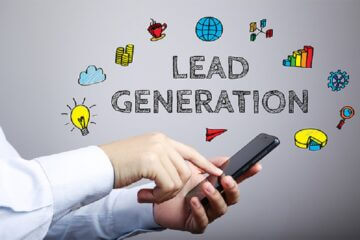 Lead Generation Business Concept